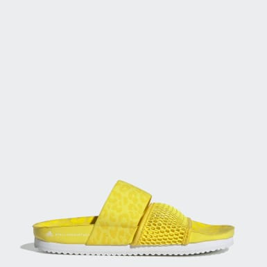 Women adidas by Stella McCartney Yellow Stella-Lette Slides
