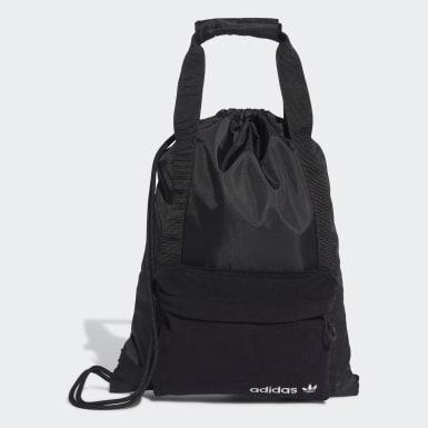 Originals สีดำ กระเป๋าช้อปปิ้งยิมแซค Premium Essentials