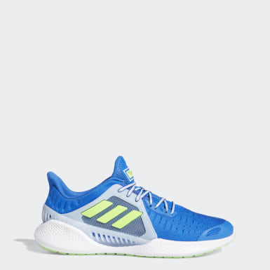 Men Running Blue ClimaCool Vent SUMMER.RDY EM Shoes