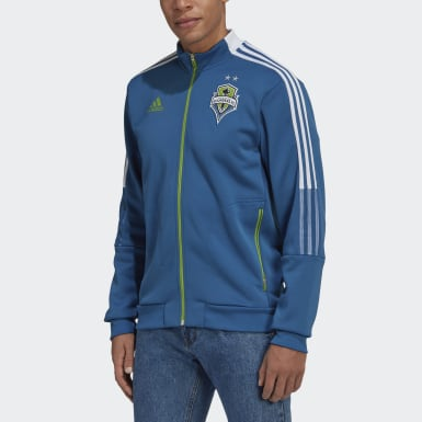 Men's Soccer Blue Seattle Sounders FC Anthem Jacket