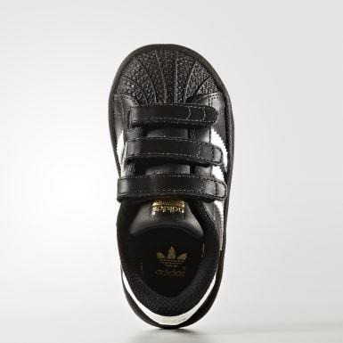 Infant Originals Black Superstar Shoes