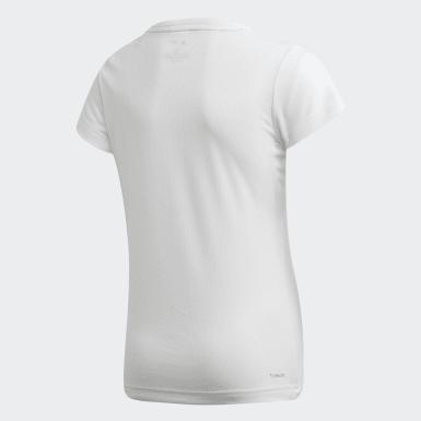 Camiseta Parley Blanco Niña Yoga