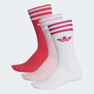 Originals Crew Socken, 3 Paar Rosa