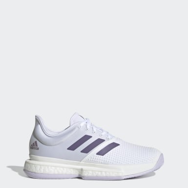 Women's Tennis White SoleCourt Shoes