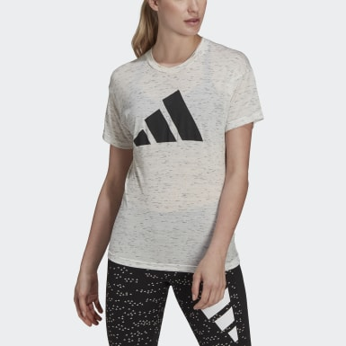 Women Athletics White adidas Sportswear Winners 2.0 Tee