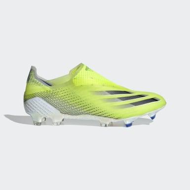 Boas de Futebol X Ghosted+ – Piso firme Amarelo Futebol