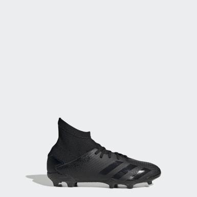 Calzado de fútbol Predator 20.3 Terreno Firme Negro Niño Fútbol