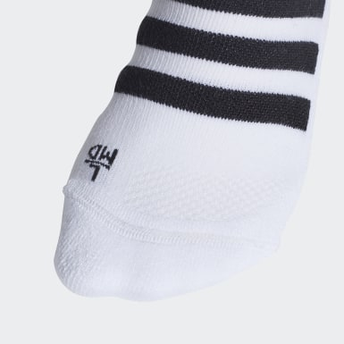 Soccer White Alphaskin Graph Cushioned Socks