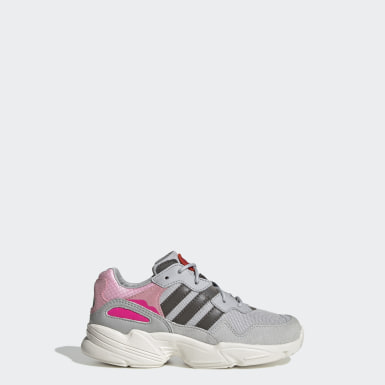 Kids 4-8 Years Originals Grey Yung-96 Shoes