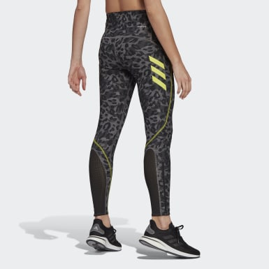 Women Running Grey Adizero Primeblue Running Long Tights