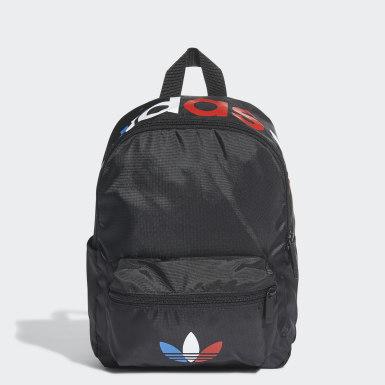 Originals Zwart Adicolor Tricolor Mini Rugzak