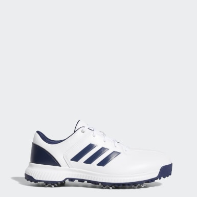 Men Golf White CP Traxion Shoes