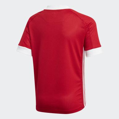 Boys Fodbold Rød Aberdeen FC hjemmebanetrøje