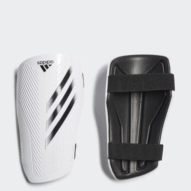 ฟุตบอล สีขาว สนับแข้งสำหรับฝึกซ้อม X 20