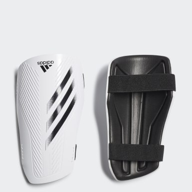 Football White X 20 Training Shin Guards
