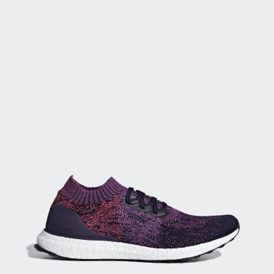 Men's Running Purple Ultraboost Uncaged Shoes
