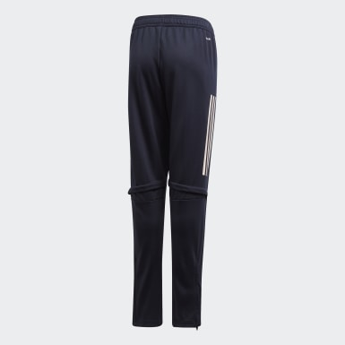 Youth 8-16 Years Football Blue Juventus Training Tracksuit Bottoms