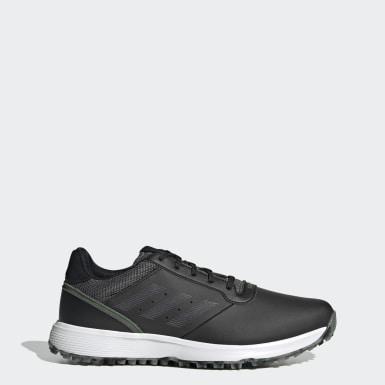 Golf černá Boty S2G Spikeless Leather Golf