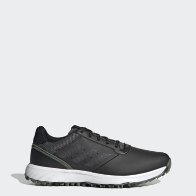 Scarpe da golf S2G Spikeless Leather Nero Golf