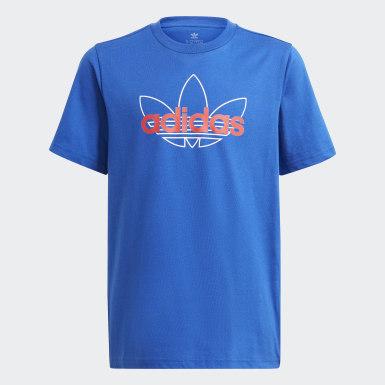 T-shirt graphique adidas SPRT Collection Bleu Enfants Originals