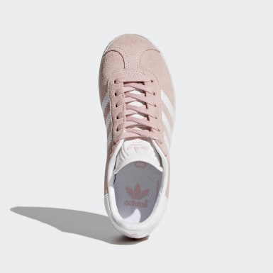 Sapatos Gazelle Rosa Raparigas Originals