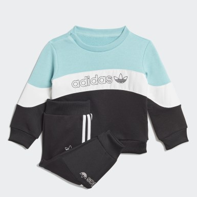 Infants Originals Blue BX-20 Crew Set