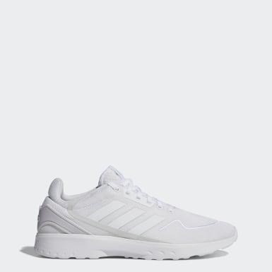 Männer Running Nebzed Schuh Weiß