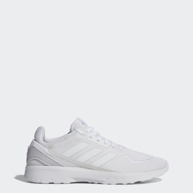 Men Running White Nebzed Shoes