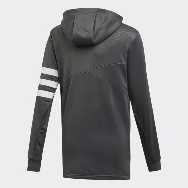 Youth Training Grey Messi Hoodie