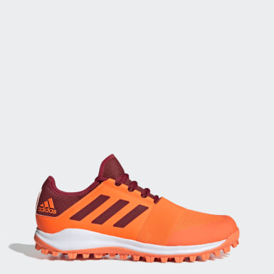 Men Field Hockey Orange Divox 1.9S Shoes