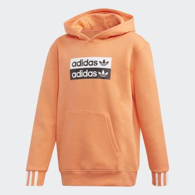 оранжевый Худи