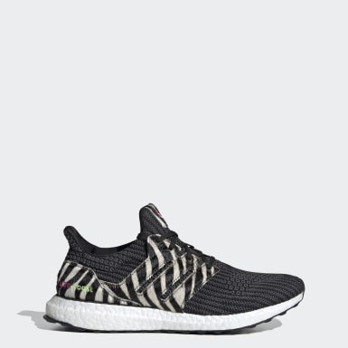 Running Black Ultraboost DNA Zebra Shoes