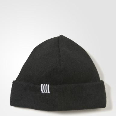 черный Шапка-бини 3-Stripes Logo