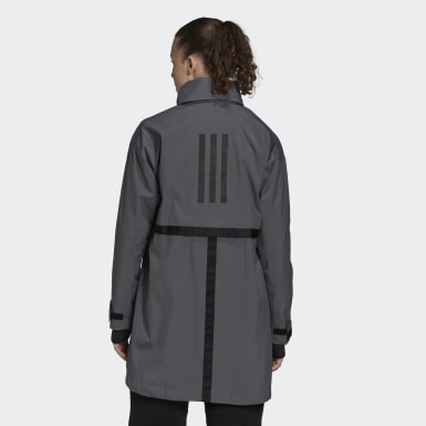 Parka Outerior RAIN.RDY Gris Mujer Outdoor Urbano