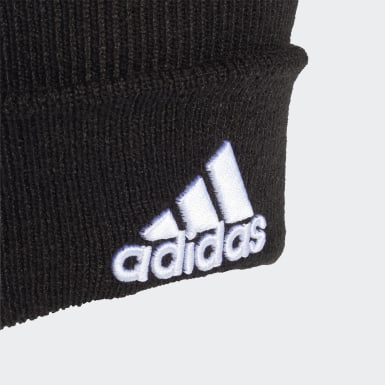 Field Hockey Black Logo Beanie