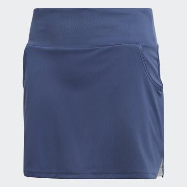 Meisjes Tennis blauw Club Rok
