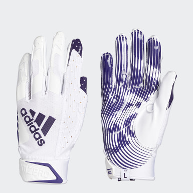 Football White Adizero 9.0 Receiver Gloves