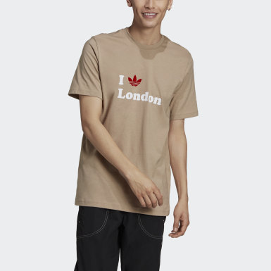 Originals Brown London Trefoil Tee