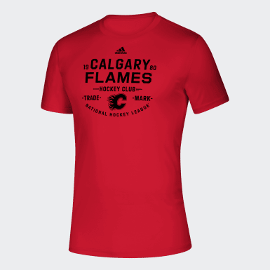 Men Hockey Multicolor FLAMES HOCKEY TEE