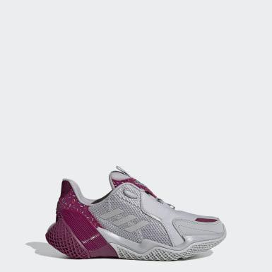 Youth Running Grey 4uture RNR Running Shoes