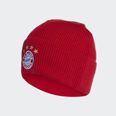 Fußball FC Bayern München Mütze Rot