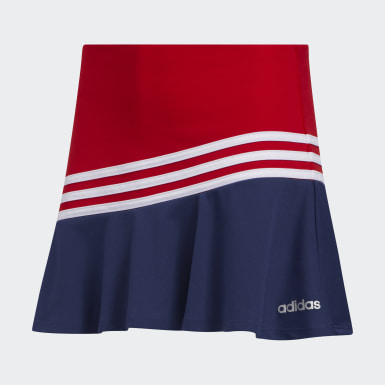 Youth Training Red Sport Skort