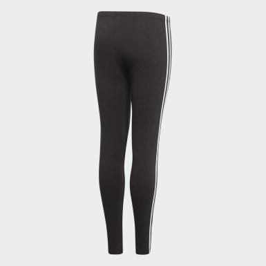 Leggings 3-Stripes Nero Ragazza Originals