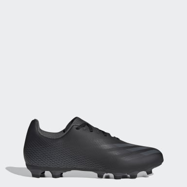 Soccer Black X Ghosted.4 Flexible Ground Cleats