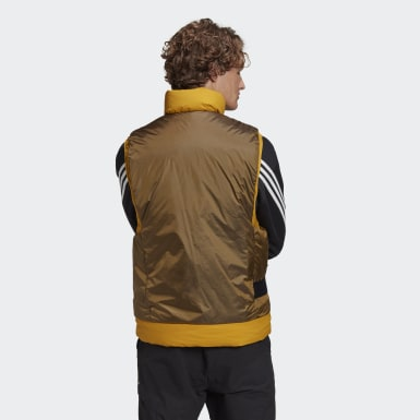 Men City Outdoor Gold COLD.RDY Down Vest
