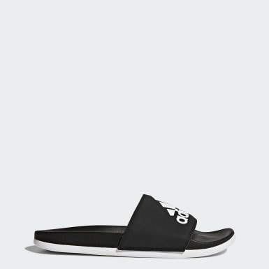 Women Swimming Black Adilette Comfort Slides