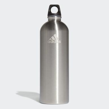 Bidón de agua Primeblue 0,75 l Plateado Tenis