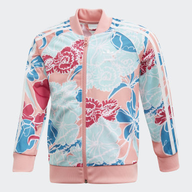 เด็ก Originals สีชมพู ชุดเสื้อและกางเกง SST