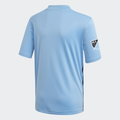 Youth Soccer Blue New York City FC Home Jersey