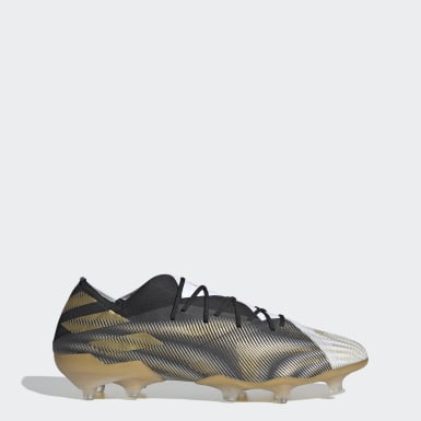 Fodbold Hvid Nemeziz.1 Firm Ground støvler